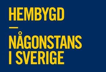 Vandringsutställningen  Hembygd  - Någonstans i Sverige