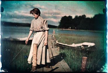 Emil Lindgrens fotosamling - det gamla Roslagen i färg