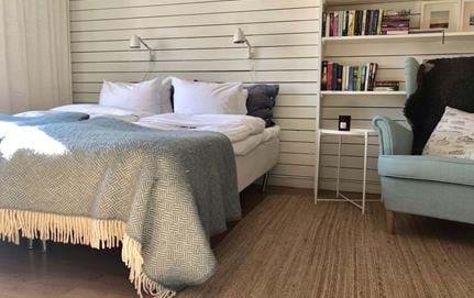 Bedroom in the Studio