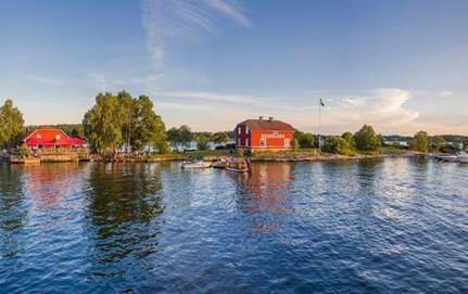 Badholmen, Vaxholm