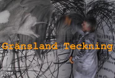 Gränsland Teckning - En gränsöverskridande utställning på NoA i Norrtälje