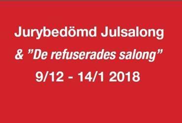 """Jurybedömd julsalong & """"De refuserades salong"""""""
