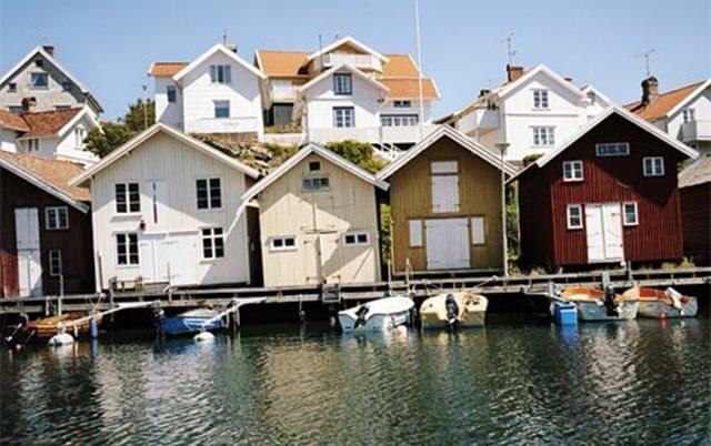 Sjöbodar Grundsund