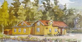 Julmarknad hos Skärgårdsmuseet, Stavsnäs