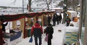 Julmarknad i Sandhamn