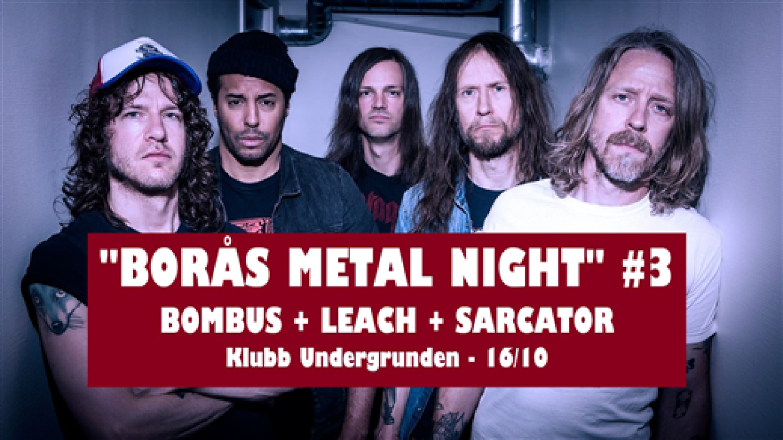 Klubb Undergrunden - Borås Metal Night