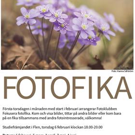 Fotoklubben Fokusera bjuder in till Fotofika. Kom och visa bilder, titta på andra bilder, prata bilder