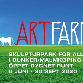 Välkommen till den nya skupturparken ARTfarm hos Idéfarmen i Sörmland. Fri entré, öppet dygnet runt mellan 6 juni - 30 september.