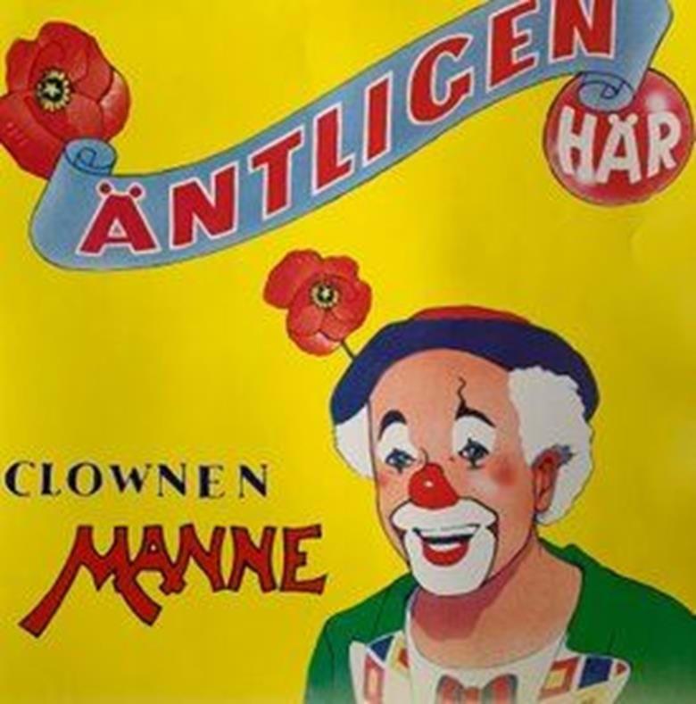 Fridals Kulturförening kan stoltsera med många evenemang och aktiviteter och många av dem vänder sig till barn och unga i målsmans sällskap! Denna dag kommer Clownen Manne återigen till Klämman för att roa all publik.